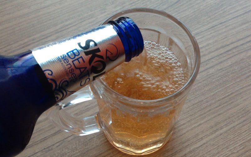 Skol Beats Senses é cerveja? Achei meio diferente o teor alcoólico