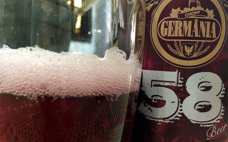 Cerveja Germânia 58, uma mistura especial com vinho